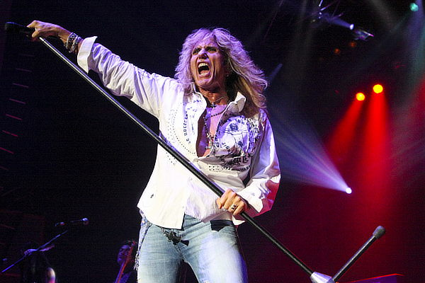 David Coverdale; photo: Steve Johnston; image courtesy of Frontiers Records