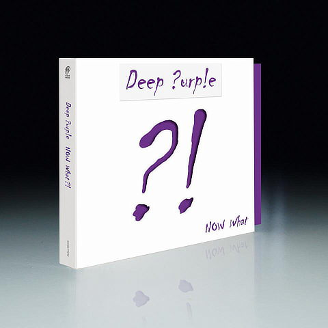 Deep Purple - Now what?! artwork; image courtesy of Edel/earMUSIC