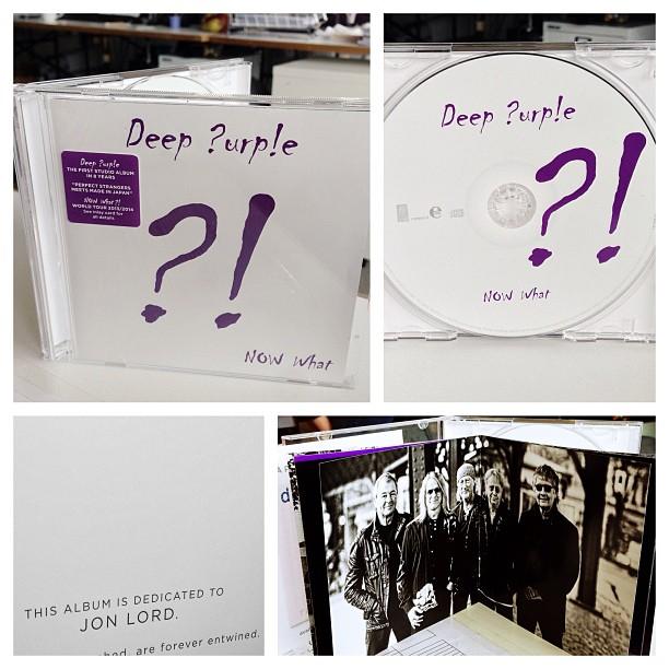 Deep Purple - Now what?! artwork; image courtesy of Edel/earMUSIC