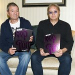 Ian & Ian with signed copies of Clasiic Rock special edition