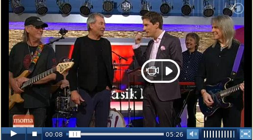 Live on ARD/ZDF Morgenmagazin, Apr 24 2013
