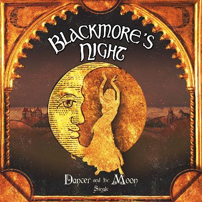 Blackmore's Night - Dancer and the Moon cover art; image courtesy of Anne Leighton Media