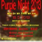 Purple Night 2013 poster