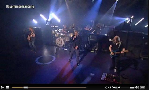 Deep Purple live at TV Total, Apr 24 2013