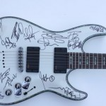 Guitar signed by GH