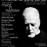Made in Warsaw poster, July 20 2013