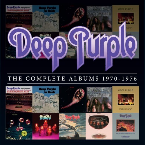 Deep Purple: The Complete Albums 1970-1976; image courtesy of Rhino records