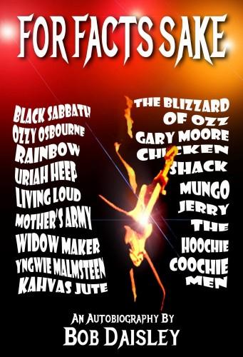 Bob Daisley, For Facts Sake book cover
