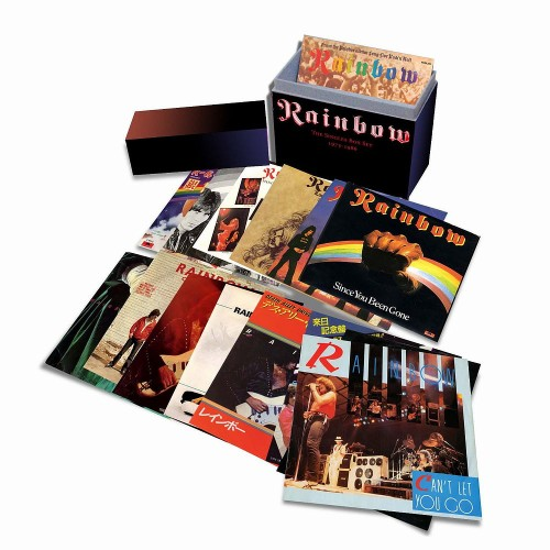 Rainbow Singles Box Set; image courtesy of Universal Music