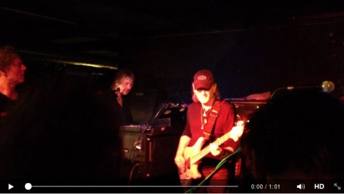 Roger Glover guesting with Don Airey band; March 13, 2014; Uster, Switzerland