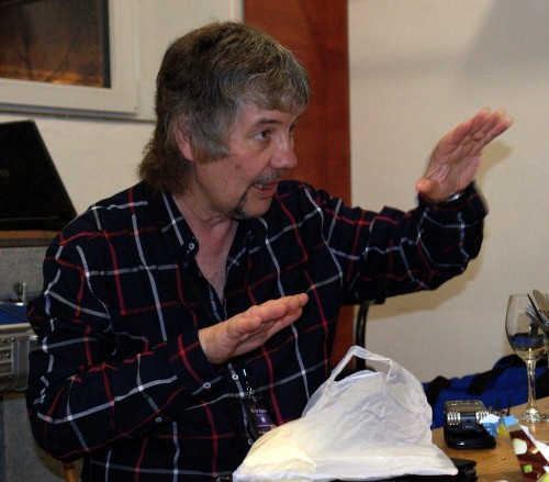 Don Airey, Prague March 21 2014; photo © Deep Purple CZ