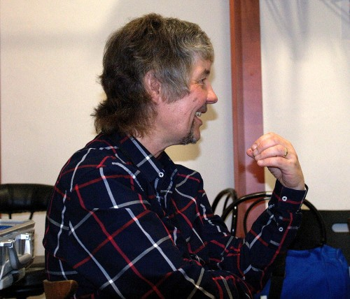 Don Airey, Prague, March 21 2014; photo © Deep Purple CZ