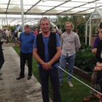 Ian Gillan at the 2014 Chelsea Flower Show