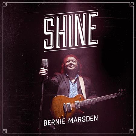 Bernie Marsden Shine artwork; image courtesy of Mascot Records
