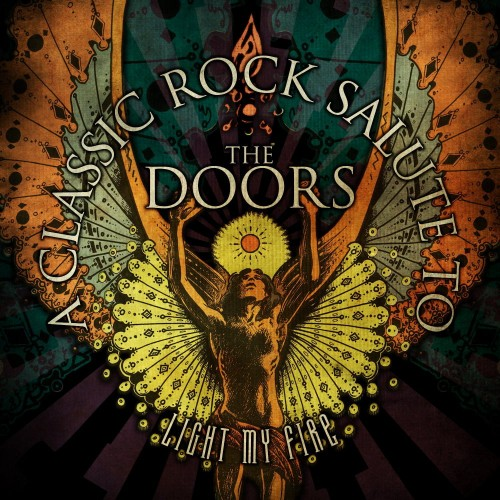 Classic Rock Salute to The Doors cover art; image courtesy of Cleopatra/Purple Pyramid
