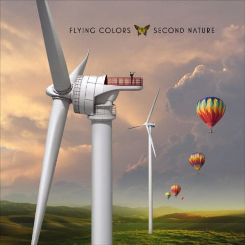 Flying Colors - Second Nature cover art; image courtesy of Mascot Label Group