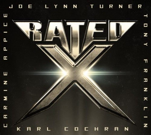 Rated X album cover; image courtesy of Frontiers Records