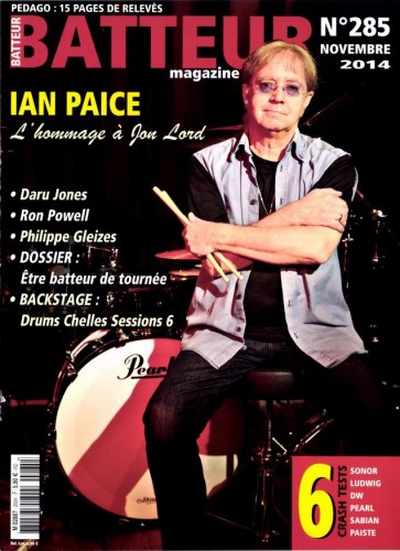 Batteur Magazine, Nov 2014 issue