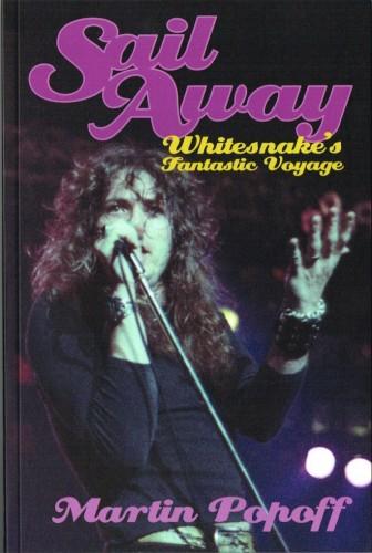 Sail Away: Whitesnake's Fantastic Voyage cover art; image courtesy of Martin Popoff