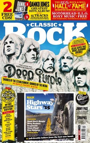 Classic Rock magazine cover, April 2015