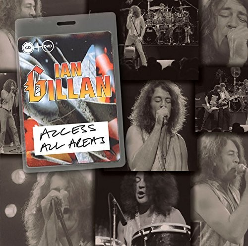 Gillan: Acess All Areas CD/DVD cover