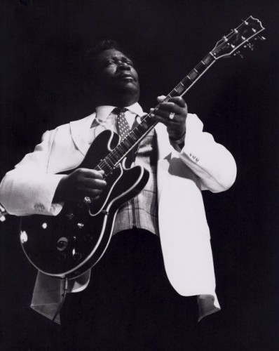 B.B. King performing in New York in late 1970s. Photo: Ronzoni, cc-by-sa-3.0