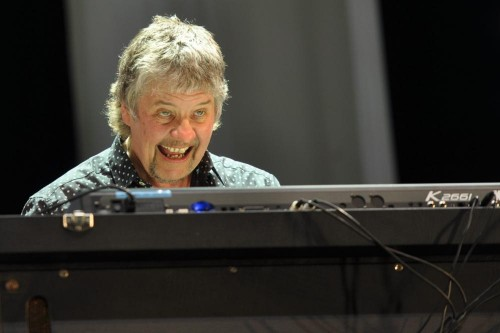Don Airey enjoying Bluesfest; Ottawa, July 18 2015; photo © Nick Soveiko cc-by-nc-sa