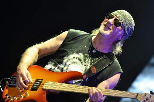 Roger Glover, Ottawa Bluesfest, July 18 2015; photo: © Nick Soveiko cc-by-nc-sa