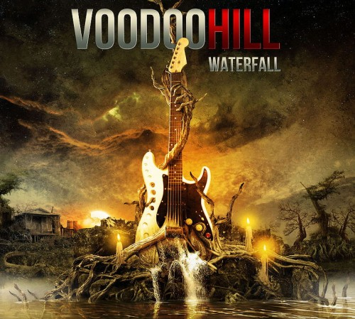 Vodoo Hill: Waterfall cover art; image courtesy of Frontiers Records