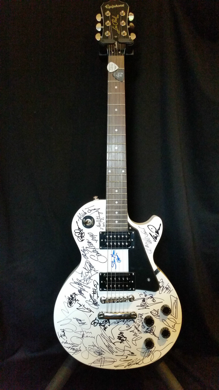 The Highway Star — Signed Guitar Auction