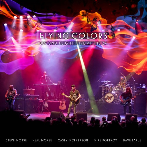 Flying Colors Second Flight artwork; image courtesy of Mascot Label Group