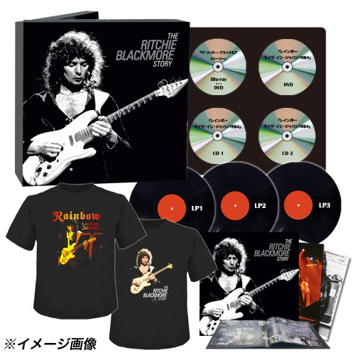 The Ricthie Blackmore Story Japanese limited edition; image courtesy of Ward Records