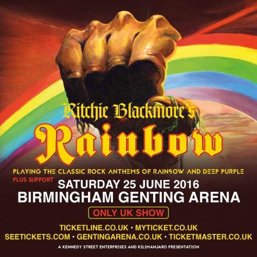 Rainbow Birmingham 2016 flyer