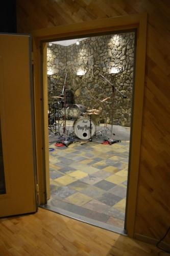 Nashville studio, March 2016; image courtesy of RG
