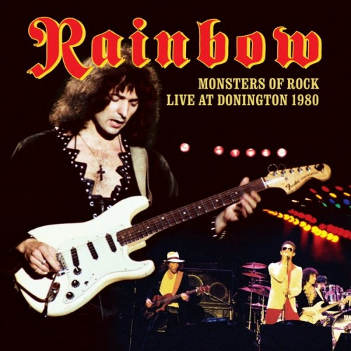 Rainbow - Live at Donington 1980 cover art; image courtesy of Edel