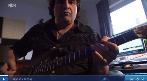 Jürgen Blackmore on NDR