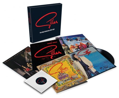Gillan The Vinyl Collection 1979-1982; image courtesy of Demon Music Group