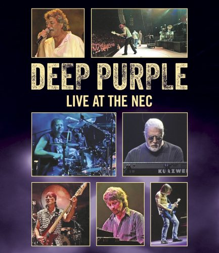 Deep Purple Live at the NEC 2002 cover art; image courtesy of Eagle Entertainment