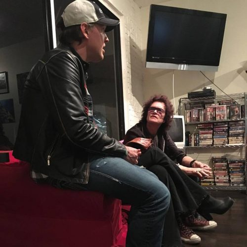 Joe Bonamassa and Glenn Hughes at Glenn's home in LA, Sep 5, 2016