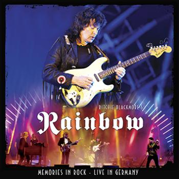 Rainbow - Memories in Rock cover art mockup