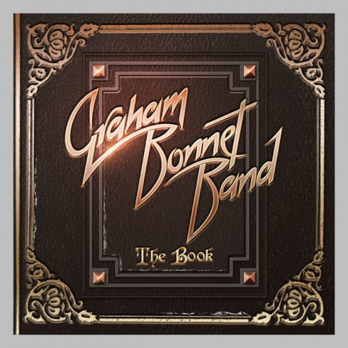 Graham Bonnet Band, The Book cover art; image courtesy of Frontiers Records
