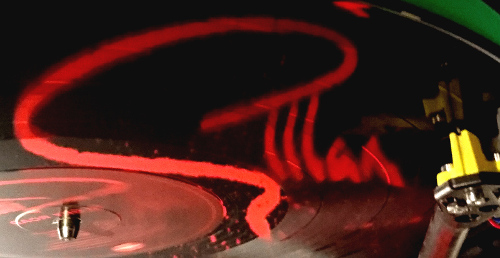 Gillan LP box vinyl logo