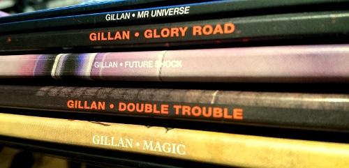 Gillan LP box spines