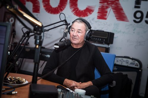 Ian Gillan in ROCK FM studio, Moscow, November 14, 2016