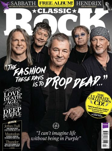 Classic Rock April 2017 issue cover