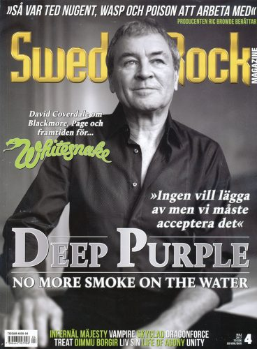 Sweden Rock Magazine, May 2017 cover