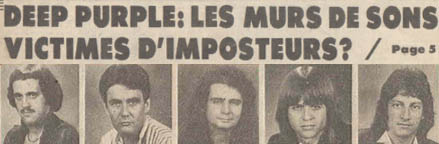 Deep Purple Lead Singer Rod Evans