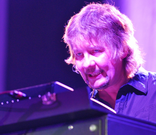 Don Airey at the Westfalenhalle, Dortmund, Jun 10, 2009. Photo: Nick Soveiko CC-BY-NC-SA.