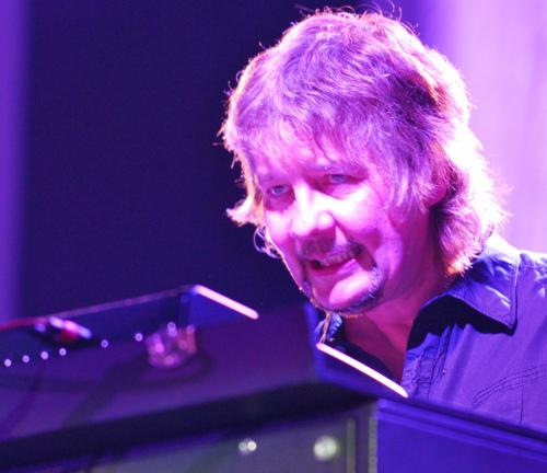 Don Airey at the Westfalenhalle, Dortmund, Jun 10, 2009. Photo: Nick Soveiko CC-BY-NC-SA.