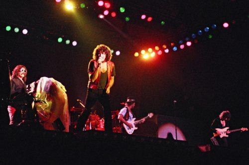 Deep Purple, Knebworth 1985; image courtesy of Wymer UK